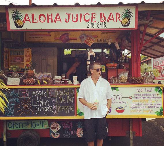 Пирс у fresh-бара на Гаваях