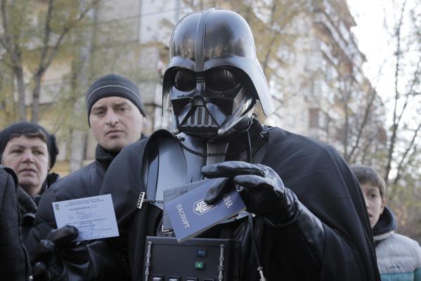 Дарт Вейдер кандидат в президенты Украины