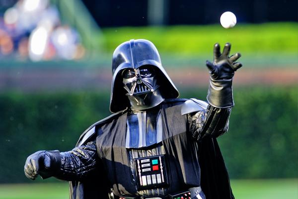 Открытие бейсбольного матча
