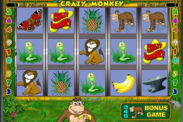 Слоты Crazy Monkey