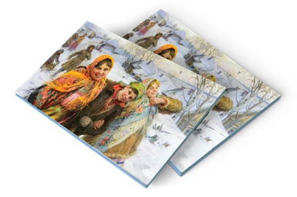 Зимние картины в коллекции Русского лото