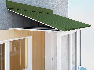 Kрыша на балкон