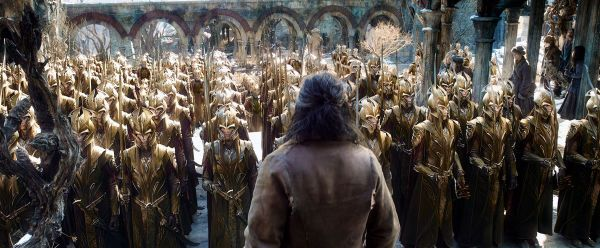 Бард и войско эльфов